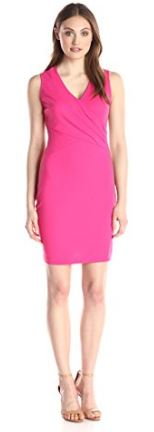 Pink wedding guest jerseydress