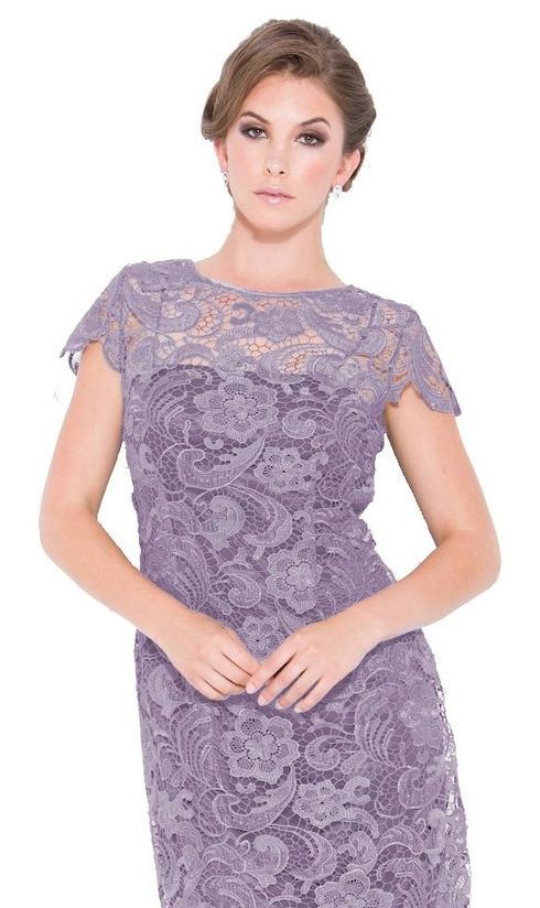 Lace Light Purple Dress
