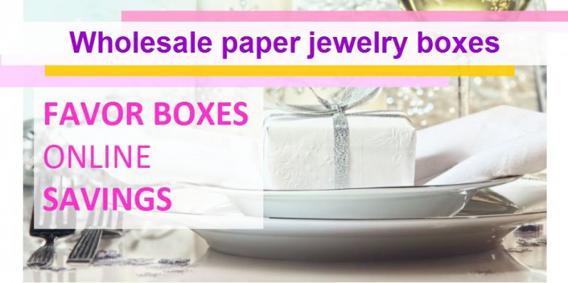 wholesale paper jewelry boxes