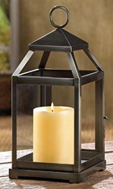 Simple black lantern
