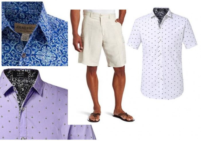 Casual Beach Wedding Men Attire