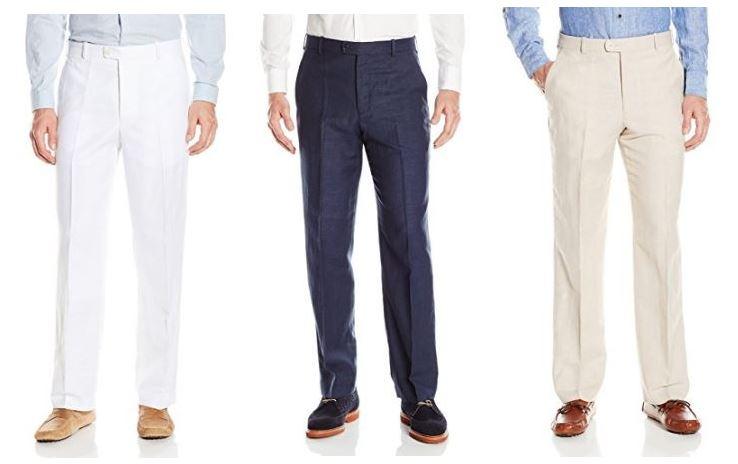 Tailored looking linen pants