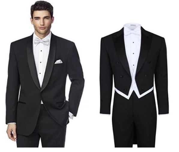 classic and elegant wedding tuxedo tailcoats