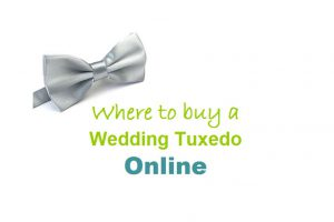 Where to buy a wedding tuxedo