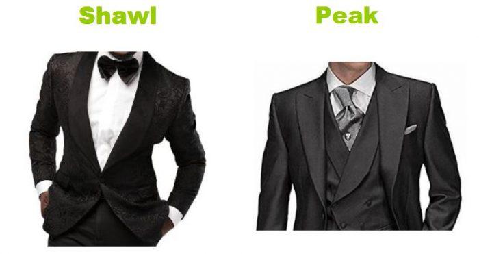 Most classic tuxedo collar styles