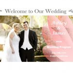 make a wedding program fan