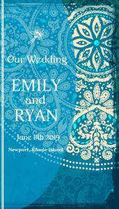 Beach Theme Wedding Programs
