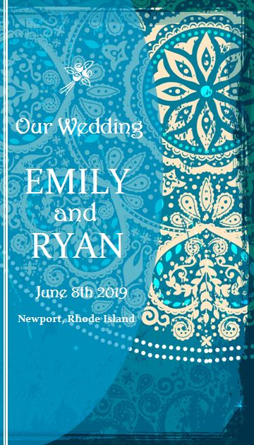 Beach Theme Wedding Programs