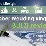Rubber wedding rings for men
