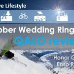 Men rubber wedding band