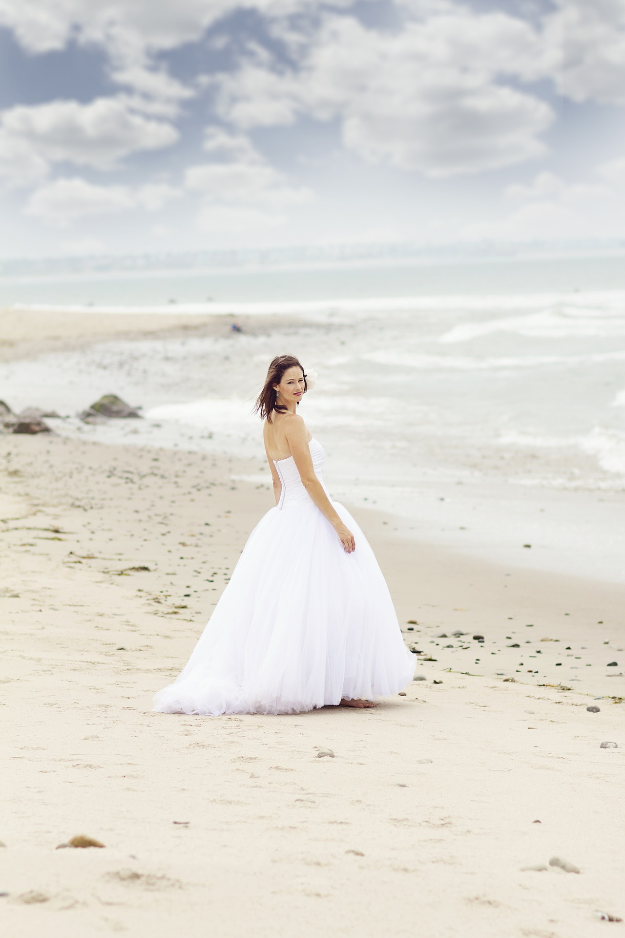 Beach Style Wedding Dresses Outside The Box Wedding