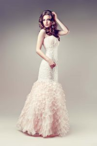 How to bustle a wedding dress