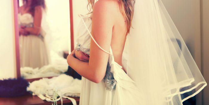 wedding dress fitting alterations