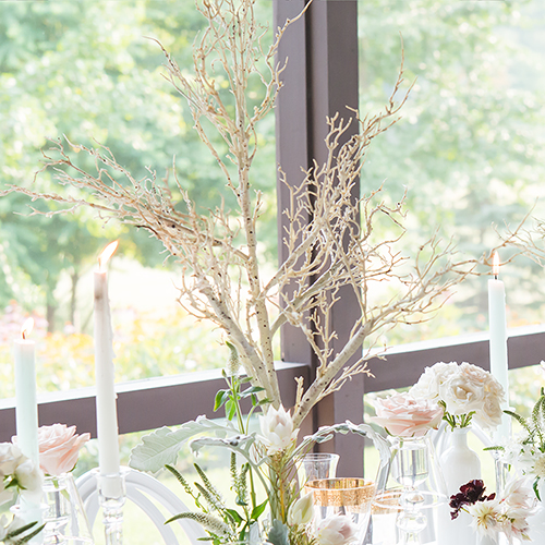 wedding table tree centerpiece