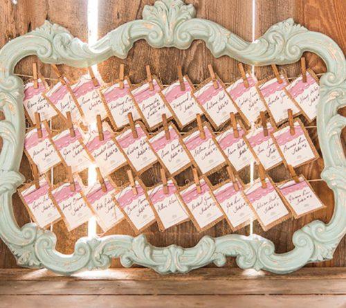 Wedding open frame decoration