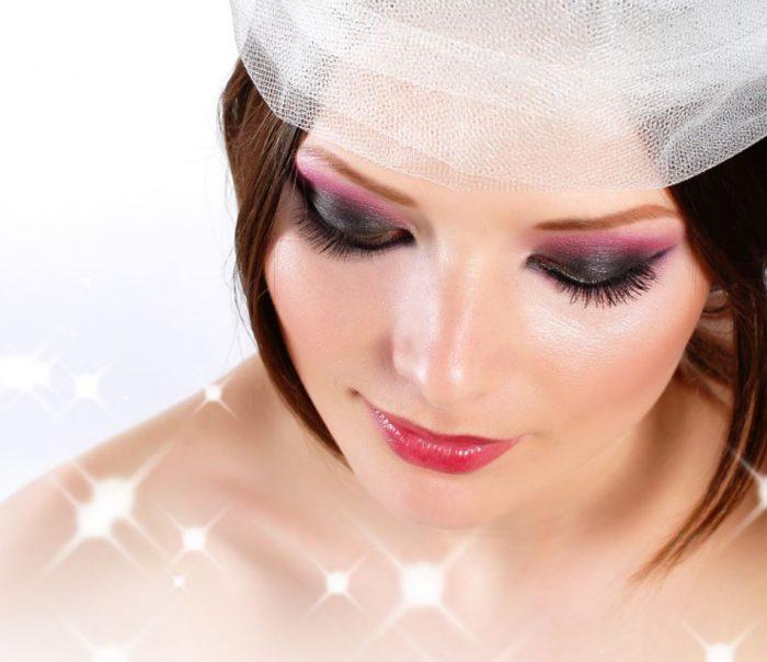 Birdcage wedding veils headpieces