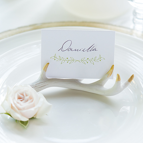 Wedding guest name placecard