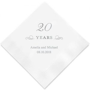 Personalized wedding anniversary