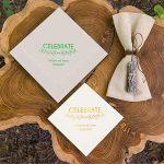 country wedding theme napkins