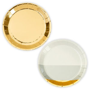 Wedding elegant paper plates
