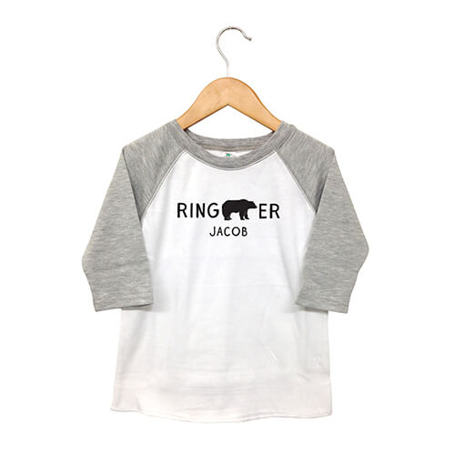 Wedding ring bearer t-shirt