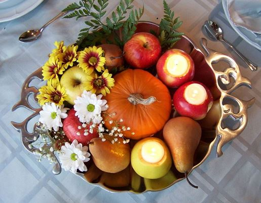 Fall country wedding decorations and centerpieces