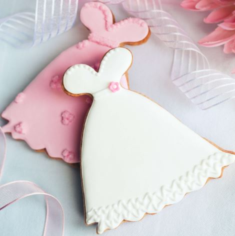 Wedding cupcake and cookie decoration