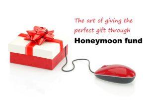 wedding gift honeymoon fund
