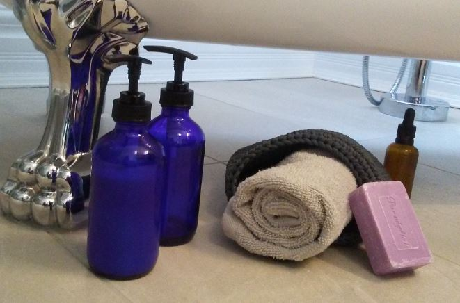 Homemade skin moisturizer